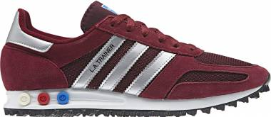 Adidas LA Trainer - Red Collegiate Burgundy Matte Silver Core Black Collegiate Burgundy Matte Silver Core Black