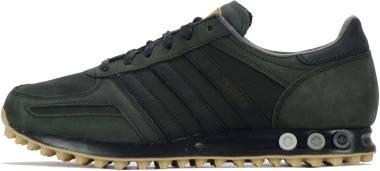 Adidas LA Trainer - Black Shock Purple Solar Green (S79395)