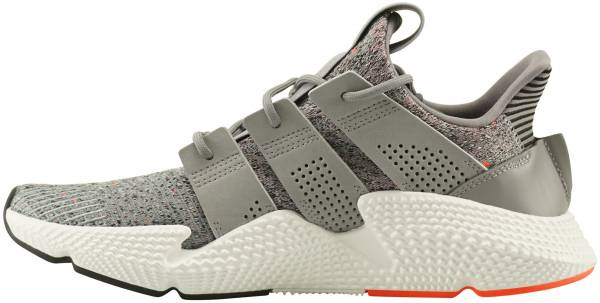 Adidas Prophere Grey Three   Footwear White-solar Red be0f35317