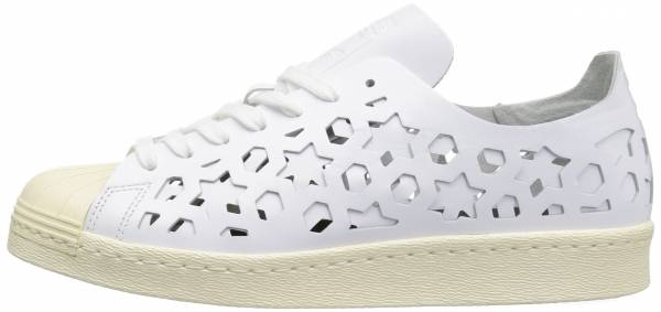 buy online 88467 c65d9 Adidas Superstar 80s Cutout White