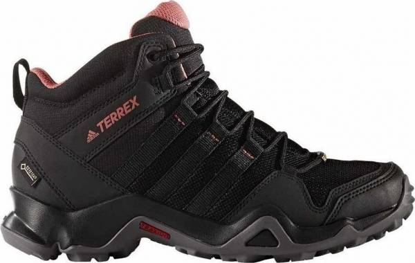 Adidas Terrex AX2R Mid GTX - Black Black Tactile Pink (BB4620)