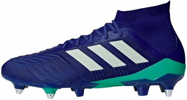 Adidas Predator 18.1 Soft Ground - Blue Uniink Aergrn Hiregr Uniink Aergrn Hiregr