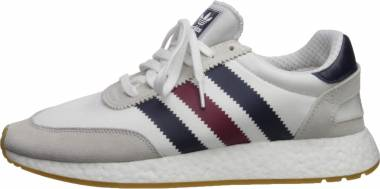 Adidas I-5923 - White Collegiate Burgundy Collegiate Navy