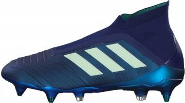 Adidas Predator 18+ Soft Ground - Blue Uniink Aergrn Hiregr Uniink Aergrn Hiregr (CP9246)