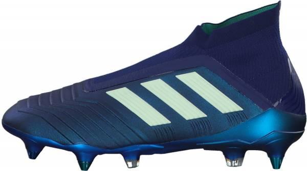 Adidas Predator 18+ Soft Ground - Blau Uniink Aergrn Hiregr Uniink Aergrn Hiregr (CP9246)