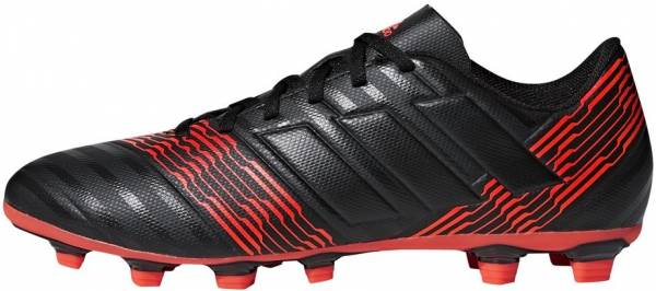 Adidas Nemeziz 17.4 FxG Black (Cblack/Cblack/Solred Cblack/Cblack/Solred)