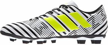Adidas Nemeziz 17.4 FxG - Weiß Footwear White Solar Yellow Core Black (S80606)