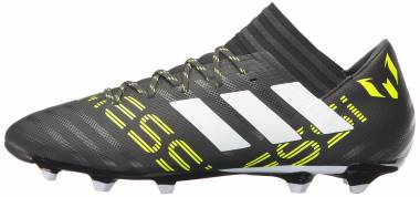 Adidas Nemeziz Messi 17.3 Firm Ground - Black/White/Solar Yellow