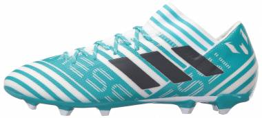 Adidas Nemeziz Messi 17.3 Firm Ground blanco Men
