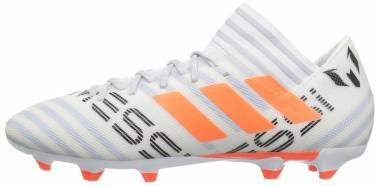 Adidas Nemeziz Messi 17.3 Firm Ground - White/Solar Orange/Clear Grey (CG2965)