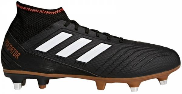 Adidas Predator 18.3 Soft Ground - Black (Core Black/Ftwr White/Solar Red Core Black/Ftwr White/Solar Red)