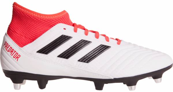 Adidas Predator 18.3 Soft Ground - blanco (CP9305)