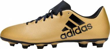 Adidas X 17.4 FxG - Gold Tactile Gold Met F17 Core Black Solar Red (CP9195)