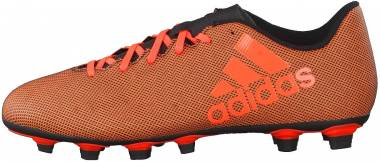 Adidas X 17.4 FxG - Black/Solar Red/Solar Orange (S82400)