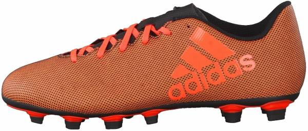 Adidas X 17.4 FxG - Multicolor (Core Black/Solar Red/Solar Orange)