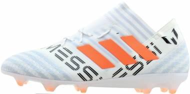 Adidas Nemeziz Messi 17.1 Firm Ground - White (BY2405)