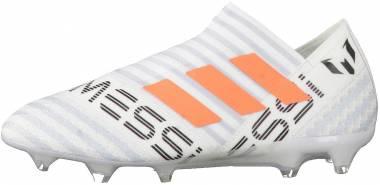 Adidas Nemeziz Messi 17+ 360 Agility Firm Ground - White/Solar Orange/Clear Grey