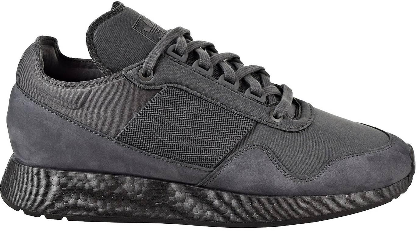 Insignia entrenador fusión  Adidas New York Present Arsham sneakers in grey (only $90) | RunRepeat