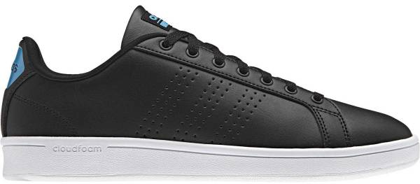 best sneakers 14344 1487b Adidas Cloudfoam Advantage Clean Black (NegbasNegbasAzusol)