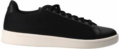 Adidas Cloudfoam Advantage Clean - Black Core Black Core Black Chalk White