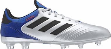 Adidas Copa 18.2 Firm Ground - Silver/Blk/Blue (DB2443)