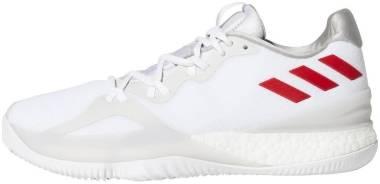 Adidas Crazylight Boost 2018 Bianco (Ftwwht/Scarle/Silvmt Ftwwht/Scarle/Silvmt) Men