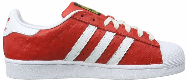 Adidas Superstar Animal Rot (Red/Ftwr White/Gold Met.)