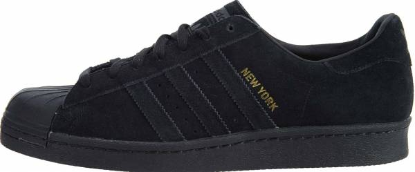 brand new f3373 10bc9 Adidas Superstar 80s City Series Black