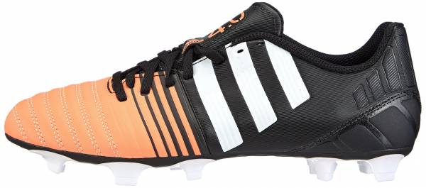 Adidas Nitrocharge 4.0 Firm Ground - Schwarz Core Black Ftwr White Flash Orange S15 (B44200)