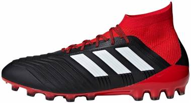 Adidas Predator 18.1 Artificial Grass - Black Cblack Ftwwht Red Cblack Ftwwht Red (BB7746)