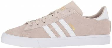 Adidas Campus Vulc II - White Cwhite Ftwwht Gold Mt Cwhite Ftwwht Gold Mt