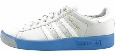 Adidas Forest Hills - Blanc Blanc Bleu Ciel