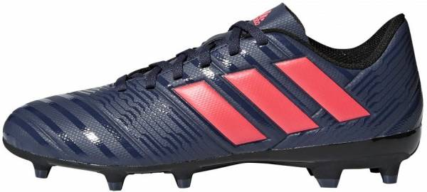 Adidas Nemeziz 17.4 Firm Ground - Trace Blue/Red Zest/Core Black (DB2246)