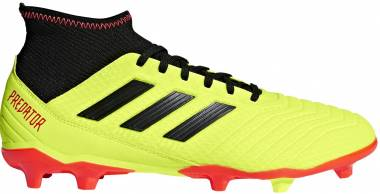 Adidas Predator 18.3 Firm Ground Solar Yellow/Black/Solar Red Men