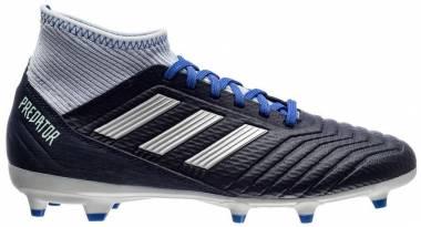 Adidas Predator 18.3 Firm Ground - Legend Ink/Silver Metallic/Aero Blue (BD7299)