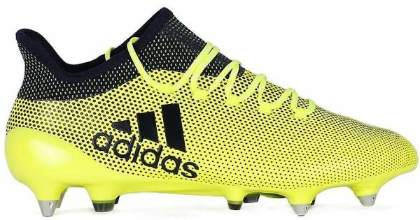 Adidas X 17.1 Soft Ground - Yellow (S82314)