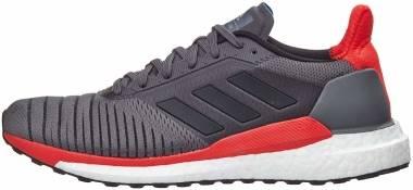 Adidas Solar Glide ST - Grey/Black/Hi-res Red (CQ3176)