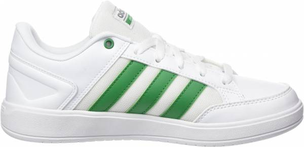 748446038 Adidas Cloudfoam All Court Bianco (Ftwwht Green Grethr Ftwwht Green Grethr