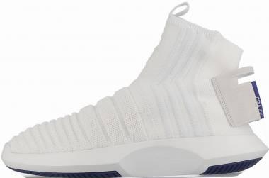 Adidas Crazy 1 ADV Sock Primeknit - Footwear White / Real Purple