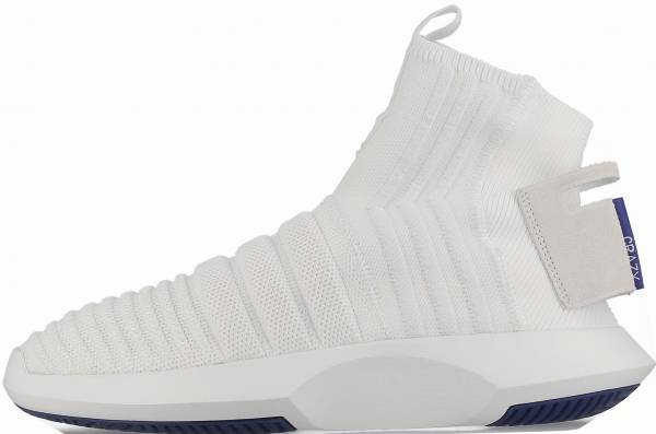 super popular e7986 deb5c Adidas Crazy 1 ADV Sock Primeknit White