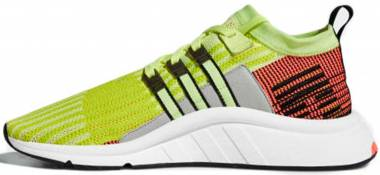 Adidas EQT Support Mid ADV Primeknit - Glow Black Turbo