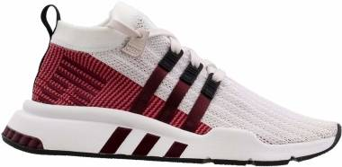 Adidas EQT Support Mid ADV Primeknit - orchid tint s18/ftwr white/maroon