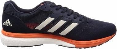 Adidas Adizero Boston Boost 7 - Blue Legend Ink Raw White True Orange (B37383)