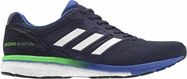 Adidas Adizero Boston Boost 7 Legend Ink/Shock Lime/Hi-res Blue Men