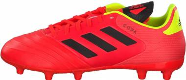 Adidas Copa 18.3 Firm Ground - Solar Red/Core Black/Solar Yellow (DB2461)