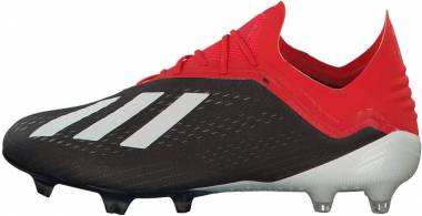 Adidas X 18.1 Firm Ground - Black/White/Active Red