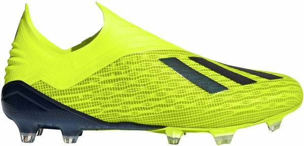 Adidas X 18+ Firm Ground Yellow