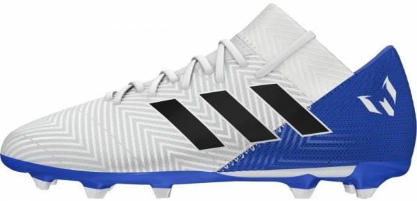 Adidas Nemeziz Messi 18.3 Firm Ground - Weiß Ftwbla Negbás Fooblu 001 (DB2111)