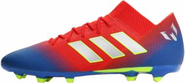 Adidas Nemeziz Messi 18.3 Firm Ground - Active Red/Silver Metallic/Football Blue (BC0316)
