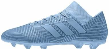 Adidas Nemeziz Messi 18.3 Firm Ground - Ash Blue/Ash Blue/Raw Grey
